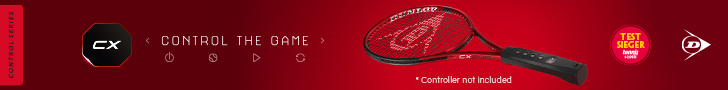 Dunlop-Cx Tennisrackets